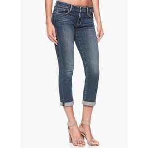PAIGE Jeans - Paige Denim Boyfriend Canyon Skinny Cropped Jeans